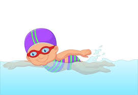 girl swimming clipart. Perfect Girl Cartoon Little Girl Swimmer In The Swimming Pool With Girl Swimming Clipart W