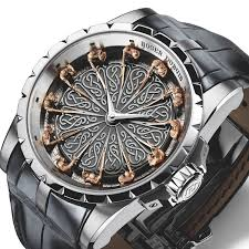 Knights Of Round Table Watch Roger Dubuis Excalibur Table Ronde Ii Destinationmars Men