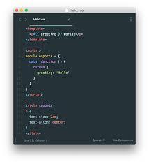 Single File Components — Vue.js