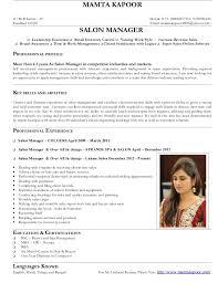 Salon Manager Salon Manager Mamta Kapoor