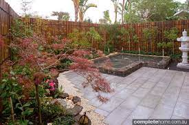 real backyard japanese garden design