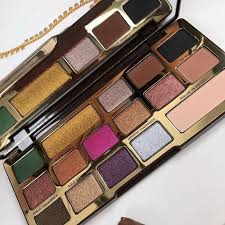 too faced chocolate gold bar eyeshadows palette holiday 2017 makeup itemsmakeup bagsmakeup