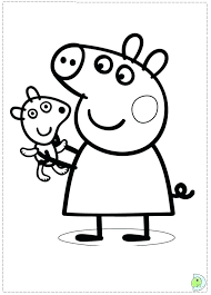 Olivia The Pig Coloring Pages The Pig Success Performance Coloring