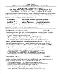 Ceo Resume Examples From Sales Job Resume Samples Roho 4senses