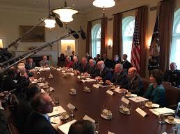President Trump Meets With Current Cabinet – Four Seats Remain ...