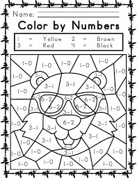Download these color by number printables for your kids and students. Printable Easy And Hard Color By Number Games 101 Coloring