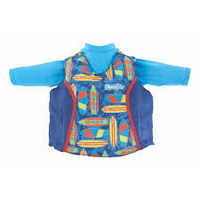 Puddle Jumper Kids 2 In 1 Life Jacket And Rash Guard