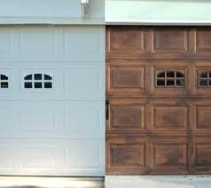 Faux Wood Garage Doors Best Ideas On Wooden And Clopay Reviews