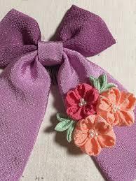 袴に似合う髪飾り リボンタイプ 鈴音屋のハンドメイドと京都の日々綴り
