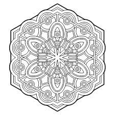 Pin Van Marina Henraath Op Mandala Kleurplaten Geometric Coloring