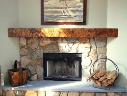 wood fireplace mantel shelves log mantels rustic corner antique