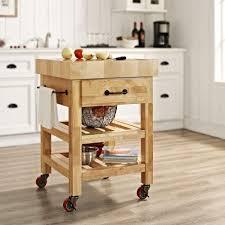Crosley Kitchen Cart With Granite Top Crosley Cherry Kitchen Cart With Granite Top Kf30003ech The Home