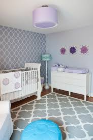 richmond white linen crib bedding with moroccan print poufs and floor pillows nursery transitional furniture lamp