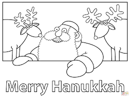 Small Picture Merry Hanukkah coloring page Free Printable Coloring Pages