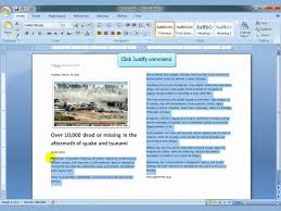 news article format ms word 2007 newspaper columns mp4 youtube