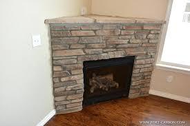 corner stone electric fireplace electric fireplace corner stone ideas stacked stone corner electric fireplace