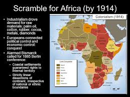 The Scramble for Africa was the invasion  occupation  colonization  and  annexation of Afrikan territory by European powers during the age of New  Imperialism