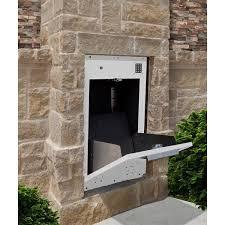 parcel drop box wall mount mailbox