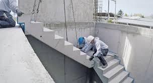 Eine treppe ist zwar ein alltäglich genutztes bauelement. Trittschallschutz Treppen Eines Materiallagers In Rekordzeit Eingebaut Abz
