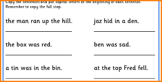 9 capital letters worksheet | ars-eloquentiae