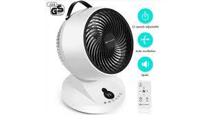 Mycarbon Ventilator Leise 12 Stufen Tischventilator Kaufen Oder