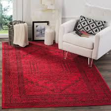 safavieh adirondack collection adr108f red and black oriental vintage area rug 8 x 10 kitchen dining
