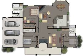 Ultra Modern House Floor Plans - Modern house plan interior design