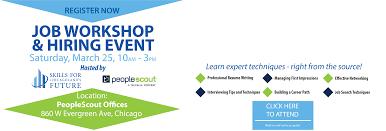job workshop hiring event skills for chicagolands future job job workshop hiring event skills for chicagolands future job seekers