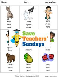 For every level, there are 12 phonics worksheets covering each skill that phonics hero teaches. Are And Ear Phonics Lesson Plans Worksheets And Other Teaching Resources