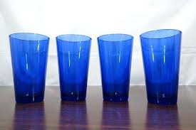 cobalt blue water glasses clear glass coffee mugs awesome cobalt blue tumblers drinking glasses water glasses