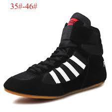 2017 <b>High quality</b> men <b>Wrestling Shoes high</b> waist boxing shoes ...