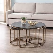 lokyle round nesting coffee tables