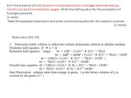 hydrogen peroxide equation jennarocca