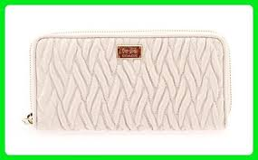 Coach Accordion Zip Wallet in Gathered Twist Leather, F49609 IMCHK - Wallets  ( Amazon