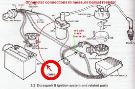 jumping solenoid on ford truck yesterday s tractors ballast resistor is a special resistive wire of about 1 4 ohms not a discrete component such as on n tractor or ceramic block as on old gm chryslers