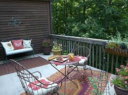 fashionable mad mats on attractive outdoor rugs