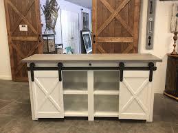 custom tv stands. Custom TV Stand With Barn Doors Tv Stands