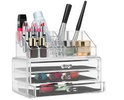 large acrylic makeup organizer uk