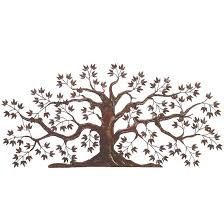 on wrought iron metal wall sculpture art with dr livingstone iron tole tree wall art dlw526rust