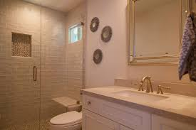 Guest Bathroom Remodel Gorgeous Beyond The Master Bath A Traditional Look For A Guest And Jack