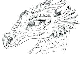Dragon Coloring Pages For Adults Printable Math Worksheets