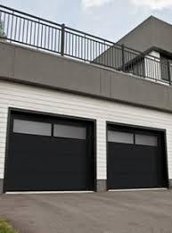 wondrous modern black doors door black iron railing design ideas for modern garage doors