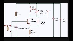 simple fm transmitter circuit simple fm transmitter circuit