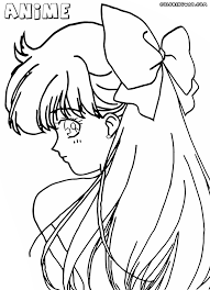 Small Picture Anime girl coloring pages Coloring pages to download and print