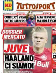 Un altro grande colpo di Paratici: Haaland al Borussia ...