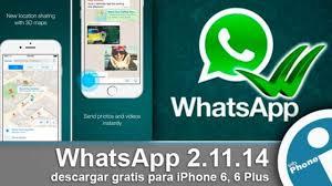 Como descargar gratis WhatsApp para iPhone 6, 6 Plus [enlaces]