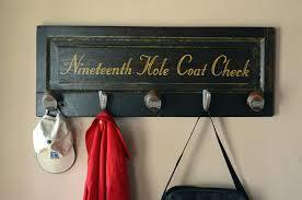 golf rack best golf gifts vintage door coat rack with reclaimed golf club heads golf rack for garage