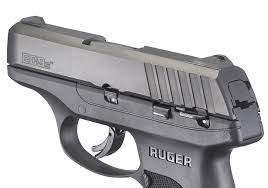 safety features include integrated trigger safety manual safety disconnect and an inspection port that allows for visual confirmation of a loaded