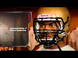 Riddell Helmet Fitting Chart Riddell Revolution Speed Helmet Fitting Guide