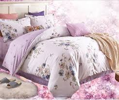 Wholesale! 4 Pcs Cotton Lilac Bedding Set Duvet/Quilt Cover Bed ... & 4 Pcs Cotton Lilac Bedding Set Duvet/Quilt Cover Bed Sheet Conforter set  Wedding Summer Bright Color Comforter Set-in Bedding Sets from Home &  Garden on ... Adamdwight.com